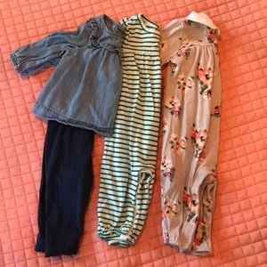 Baby Gap 3-6 girl month bundle